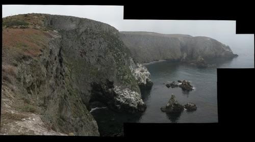 Cove on Anacapa Island