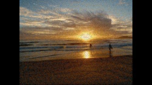 Beach bin