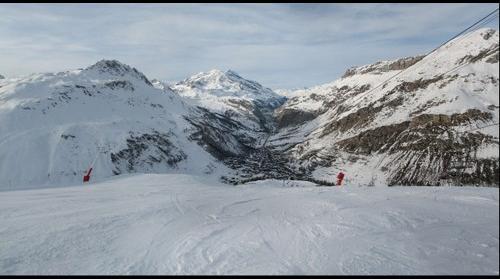 Val D'isere plan 2560 m