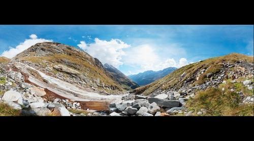 """National Park Hohe Tauern"", in Osttirol Austria at 2273m height (Dorfertal), 360°"