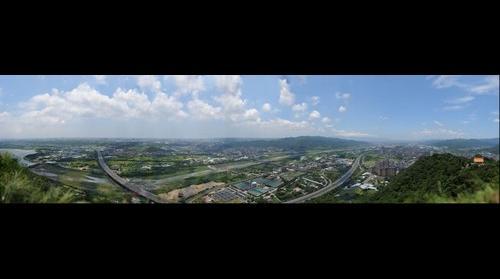 台北縣三峽/鶯歌全景 (141億8千萬像素)