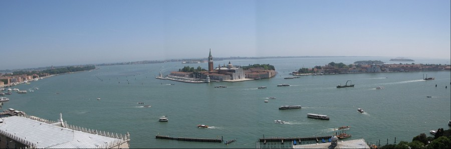 Venice view from San Marco campanile,