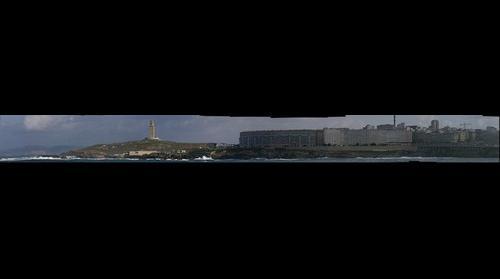 Entorno a la torre de hercules de La Coruña