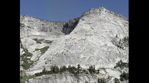 Tenaya Peak, Tuolumne Meadows, Yosemite