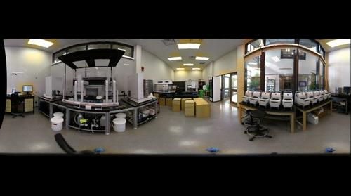 BIO  New Lab Under Glass- FEB-11-2011