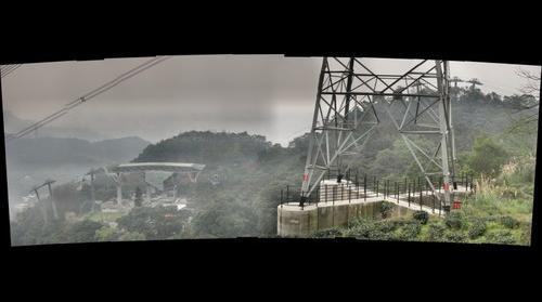 Houshanyue transmission tower (right)