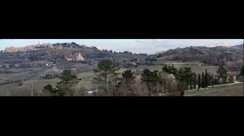 Panorama Montepulciano Siena Tuscany Italy
