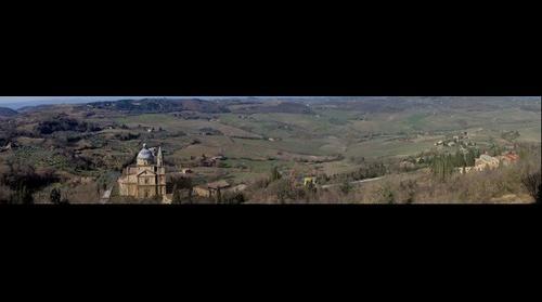 Panorama Vista San Biagio Montepulciano Siena Tuscany Italy