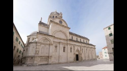 St. James's cathedral in Sibenik, Croatia