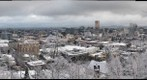 Portland in the Snow 1