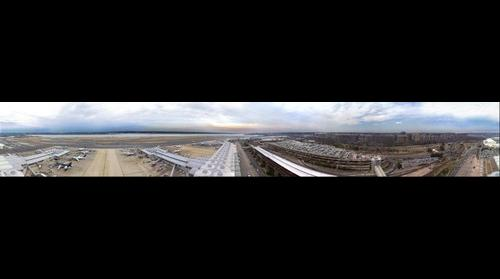 Airport Photography: DCA (Ronald Reagan National Airport) 360 Degrees From ATCT