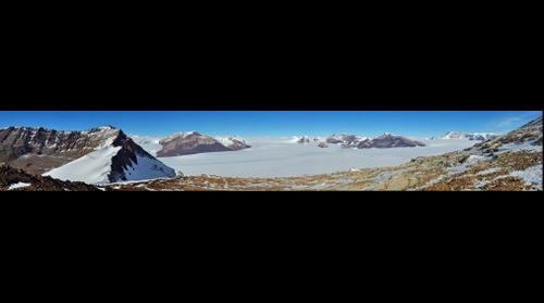 Upper Ferrar Glacier, Southern Victoria Land, Antarctica