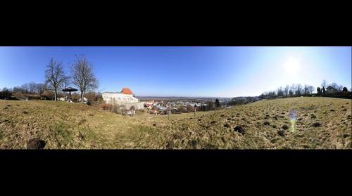 Rundumblick auf Tittmoning - Bavaria