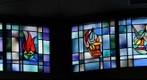 First Baptist Church of Arnold - stained glass windows