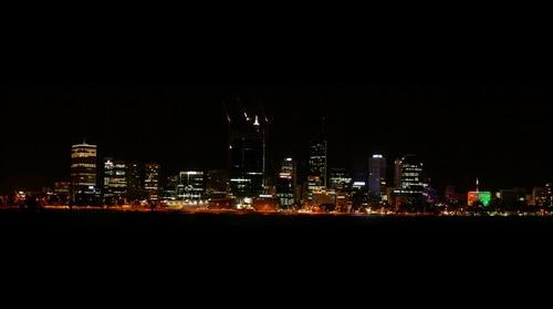 Warm night in Perth