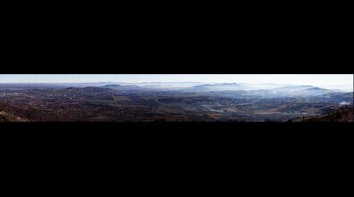 Plaine de Cournon depuis Gergovie