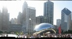 Cloud Gate and Strange Fruit in Chicago Millennium Park