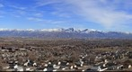 Overlooking Salt Lake Valley, from Magna, Utah, USA