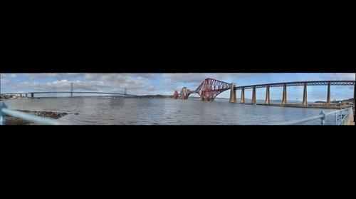 Edinburgh Forth bridges