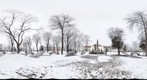 The Custozza parc, Alba Iulia, Romania (March 4th, 2011) - a 360 view from the center