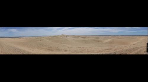 Imperial Sand Dunes from overlook just west of Glamis, CA