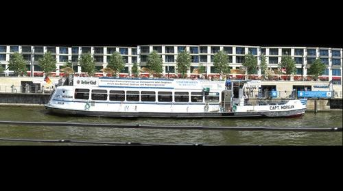 Pleasure Boat on River Spree, Berlin