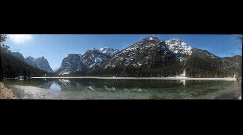Toblacher See - Lago di Dobbiaco - Lake of Dobbiaco