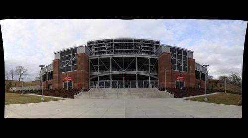 whereRU: Rutgers Football Stadium // River Road View