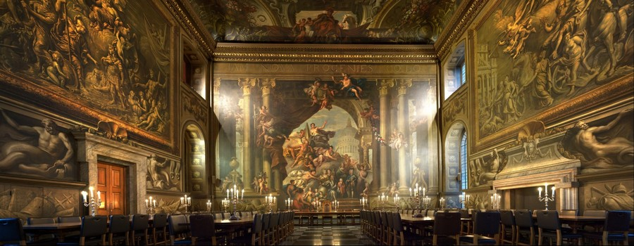 Painted Hall - Naval College London