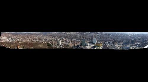 Sarajevo panorama