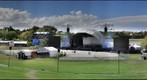 Villa Maria Estate Winery,Concert venue, Stage and grounds overview. Mangere ,Auckland. New Zealand.