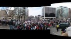 Madison Protest - North Panoramic