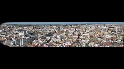 Sevilla norte desde la Giralda