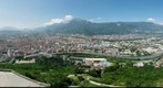 MultiPanoramic view of Grenoble, from La Bastille