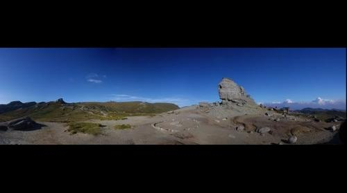 The Sfinx from Bucegi mountains
