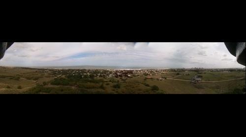Vista desde el Faro de Quequén