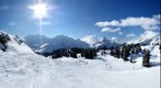 Ski run to Koerbersee
