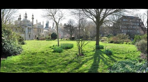 Pavilon Gardens Brighton