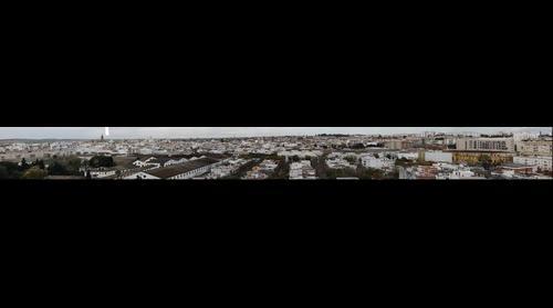 Gigapanoramica de una parte de Jerez