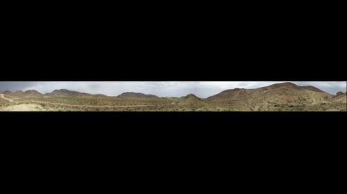Calico Mountains, Tin Can Alley Near Barstow, CA