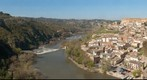 Toledo, el Valle del Tajo desde el Cerro del B