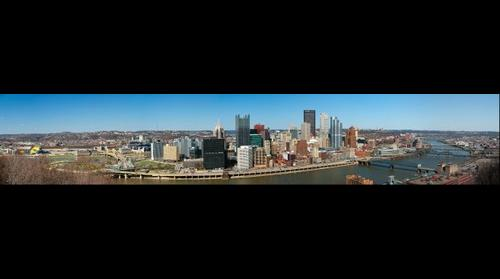 Pittsburgh - Panorama from Mt. Washington