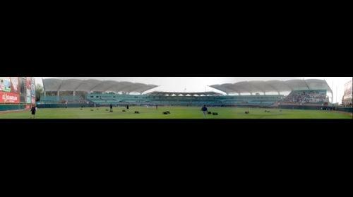 Panoramica Estadio Madero Inauguracion