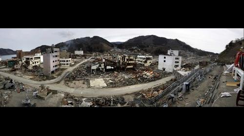 Onagawa, Japan destroyed by tsunami (AP)