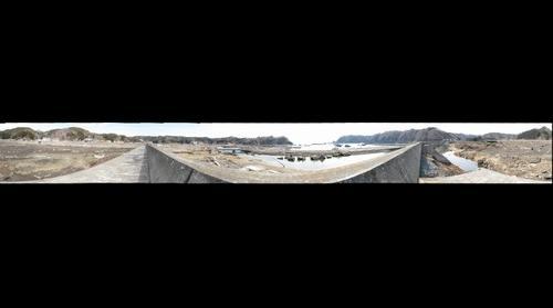 Giant Tsunami disester in Tarou-cho