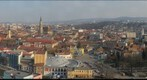 Aerial view of the city of Cluj Napoca, Kolozsvar. Transylvania, Romania by TransilvanArt , www.transilvanart.ro