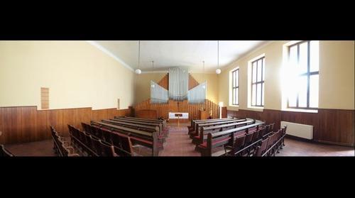 Evangelicky kostek v Pisku