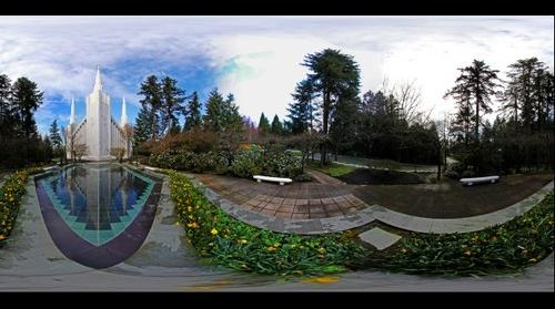Latter Day Saints Temple in Lake Oswego