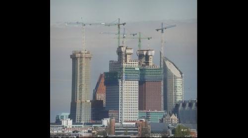 Nieuwbouw De Kroon, Nieuw Ministerie van Binnenlandse Zaken en Nieuw Ministerie van Justitie