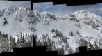 Fantasy Ridge at solitude - check out the insane ski track down the middle of the cliff
